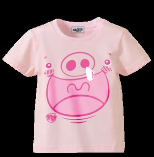 ライトピンク(ぶた)Tシャツ.png