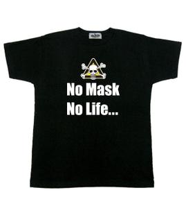 no mask no life 黒Tシャツ